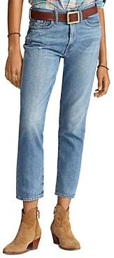Ralph Lauren Polo Avery Boyfriend Jeans in Blue