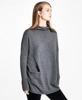 Brooks Brothers Wool-Cashmere Mockneck Sweater