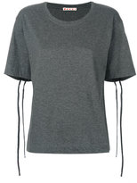 Marni drawstring sleeve T-shirt