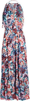Poupette St Barth Rachel Sleeveless Floral Maxi Dress