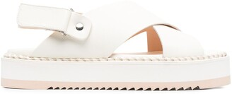AGL Marta criss-cross sandals