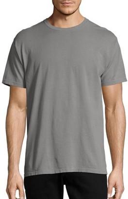 Hanes Men's and Big Men's ComfortWash Short Sleeve Tee, Up To Size 3XL