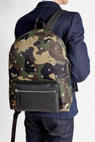 Alexander McQueen Skull Printed Camouflage Backpack