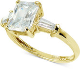 Giani Bernini Cubic Zirconia Ring in 18k Gold-Plated Sterling Silver, Only at Macy's