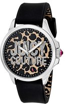 Juicy Couture Women's 1901143 Jetsetter Analog Display Quartz Black Watch