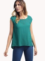 Ella Moss Dina Embroidered Top
