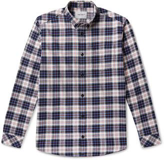Carhartt Wip Button-Down Collar Checked Cotton-Flannel Shirt