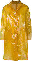 Aspesi transparent trench coat