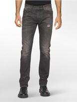 Calvin Klein Straight Leg Livorno Faded Jeans