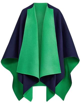 Ralph Lauren Kellin Virgin Wool Poncho