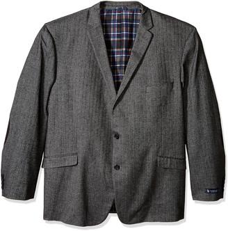 U.S. Polo Assn. Men's Big-Tall Cotton Herringbone Sport Coat