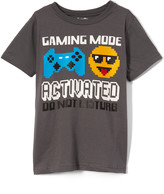 Nannette Kids Boys' Tee Shirts DKGRY - Dark Gray 'Gaming Mode Activated' Crewneck Tee - Toddler
