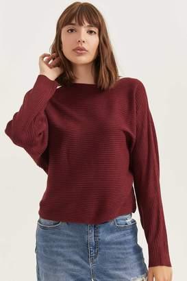 Ardene Cashmere Ribbed Sweater