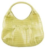 Nancy Gonzalez Crocodile Hobo Bag