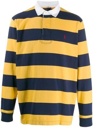 Ralph Lauren stripe print polo shirt