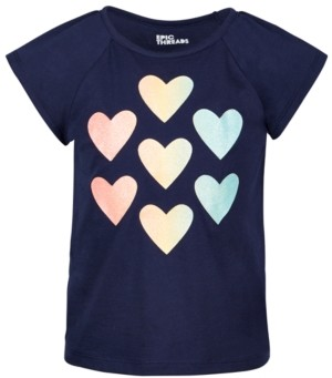 Epic Threads Toddler Girls Ombre Heart T-Shirt, Created for Macy's