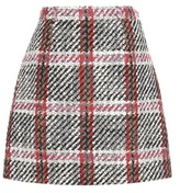 Carven Virgin Wool-blend Tweed Miniskirt
