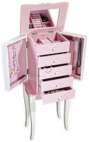 Mele Louisa Girl's Wooden Jewelry Armoire