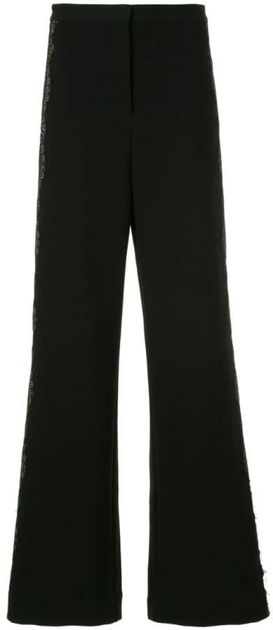 Self-Portrait wide-leg trousers