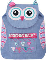 Accessorize Owl Chambray Backpack