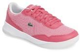Lacoste Girl's Lt Spirit Woven Sneaker