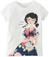 Carter's Graphic-Print T-Shirt, Toddler Girls (2T-5T)