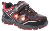 Marvel Toddler Boys' Amazing Spiderman Athletic Sneakers - Black