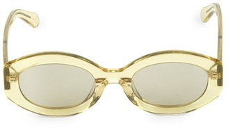 Karen Walker 49MM Bishop Oval Sunglasses