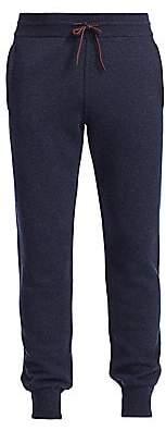 Loro Piana Men's Knit Banded Cashmere Pants