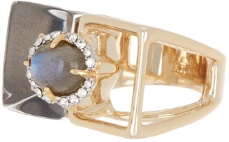 Alexis Bittar Geo Cocktail Ring - Size 6