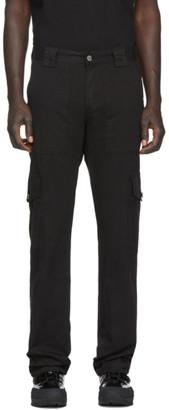 Billy Black Patch Cargo Pants