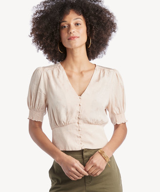 Astr Women's Tallulah Top In Color: Vintage Cream Size XS From Sole Society