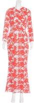 Jenni Kayne Abstract Print Maxi Dress
