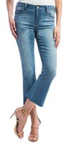 Liverpool Jeans Company Women's Stretch Crop Flare Leg Jeans