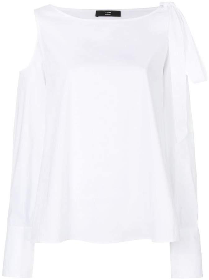Steffen Schraut cold shoulder shirt