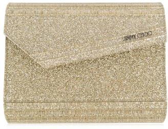 Jimmy Choo Candy Glitter Clutch Bag