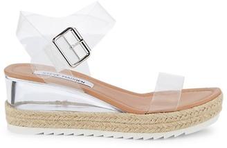 Steve Madden Bardy PVC Wedge Sandals