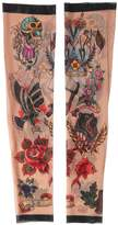 DSQUARED2 Tattoo Printed Nylon Tulle Sleeves