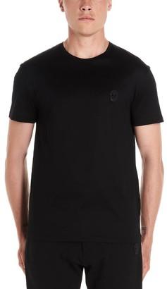 Alexander McQueen Skull Patch Crewneck T-Shirt