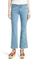 See by Chloe Women's Iconic Ankle Flare Jeans