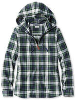 L.L. Bean Scotch Plaid Shirt, Relaxed Zip Hoodie