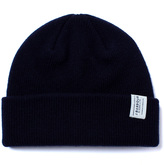 Barbour Navy New Wool Beanie Hat