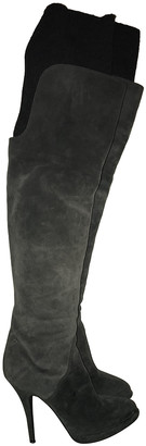 Givenchy Anthracite Suede Boots