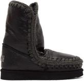 Mou Black Waxed Eskimo 24 Boots
