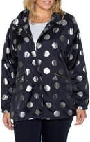 Foil Spot Print Jacket