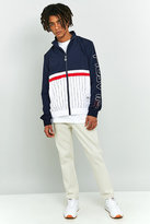Fila Pinstripe Navy And White Shell Jacket