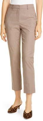 Tailored by Rebecca Taylor Slim Houndstooth Pants