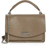 Max Mara Medium Hollywood Leather Handbag - Grey