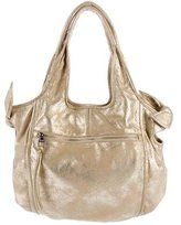 Kooba Metallic Suede Hobo
