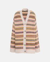 Stella McCartney fairisle v-neck cardigan